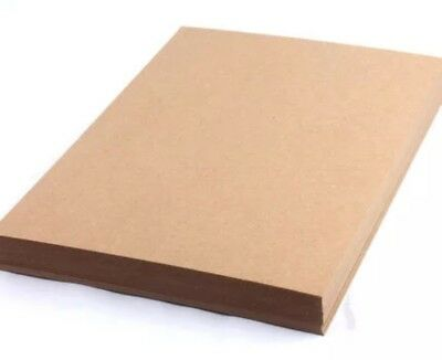 20 X A4 300GSM Blank Brown Kraft Paper DIY Wedding Invitation Card Menu