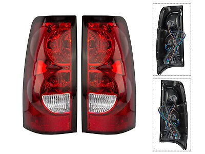 APA Tail Light Lamps for 04 - 07 Silverado Truck 1500 2500 3500 Left Right Set