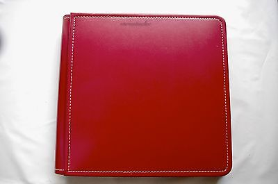Creative Memories 8x8 Red Picfolio Album BNWOP - with side loading pages - Marks