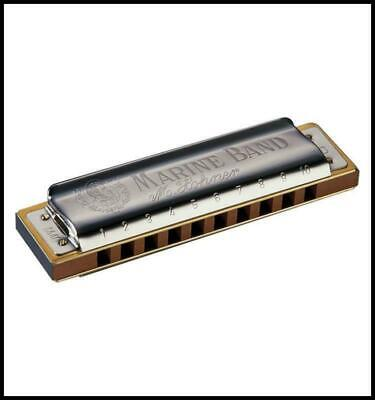 Hohner 1896 Marine Band Harmonica Blues harp  Key of Eb  Made in Germany