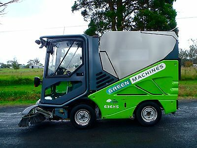 Tennant/Applied Sweepers/Green Machine HS 636/Foot Path/FloorStreet/Road/Sweeper