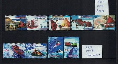 Australian Antarctic Territory AAT 1997 Anare 1998 Transport sets MUH**