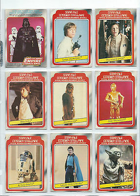 Star Wars Empire Strikes Back S1 Complete Card Set (1-132) 1980 O-Pee-Chee, OPC