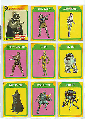 Star Wars Empire Strikes Back S3 - Complete Card Set (265-352) 1980 O-Pee-Chee
