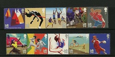 GB 2011 Olympics & Paralympics London 2012 Set MNH