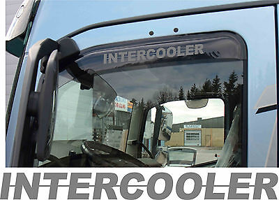 Intercooler Wind Deflector Stickers Scania - colour choice normal or reversed