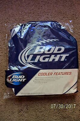 Bud Light Folding Drink Cooler Insulated & Collapsible Tote - NEW