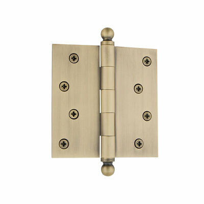 "Grandeur 4"" Ball Tip Residential Hinge with Square Corners"