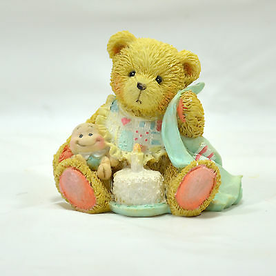 "Enesco Cherished Teddies ""Age 1"" ""Beary Special One"" - 1992 #911348"
