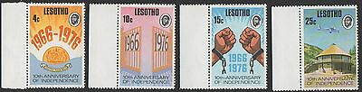 Lesotho stamps.  1976 The 10th Anniversary of lndependence. MNH