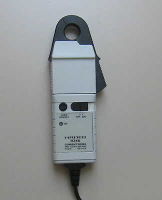 Hameg HZ 56 Stromzange DC und AC bis 100 KHz, Clamp Current Probe 5 mA - 30 A