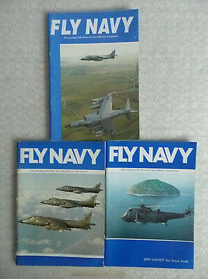 FLY NAVY - The Journal of The Fleet Air Arm Officers' Association x 3
