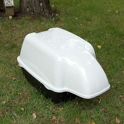 Ferplast Outdoor Cat Litter Tray Hooded Covered Waterproof Toilet Big Large