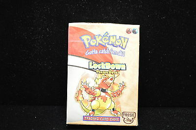 Pokemon Fossil Lockdown Theme Deck Factory Sealed English