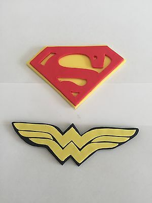 Wonder Women Cake Topper Edible Birthday Party Cake