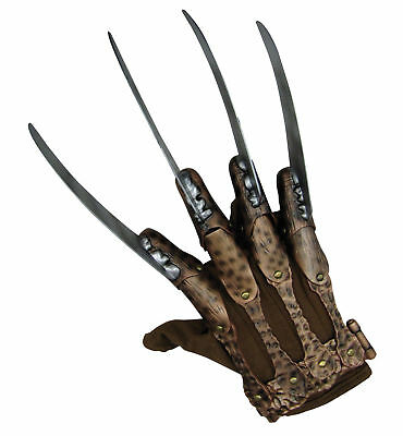 Freddy Krueger Hand A Nightmare on Elm Street Horror Men Costume Glove
