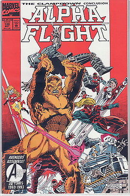 Alpha Flight 120 The Clampdown 3 of 3 not factory bagged