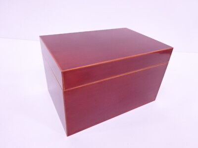 3103423: Japanese Tea Ceremony Shukei Lacquered Tea Utensil Box / Chabako