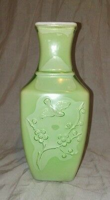 1982 Avon Celadon Green Spring Dynasty Fragranced Vase