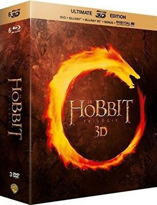 Blu-ray - Le Hobbit - La trilogie [Ultimate Blu-ray 3D Edition - Blu-ray 3D + Bl