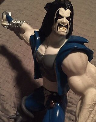 WB Store Exclusive 12' Vynal Lobo Statue Rare Very Hard To Find - DC Comics