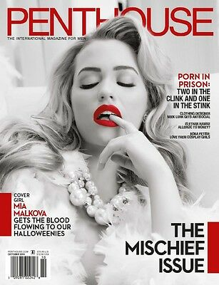 Penthouse Magazine ~ October 2016 ~ The Mischief Issue