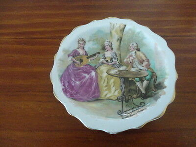Royal Standard Porcelain  M Langbroek Small Dish