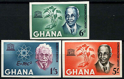 Ghana 1964 SG#354-6 UNESCO WEEK MNH Imperf Set #D52742