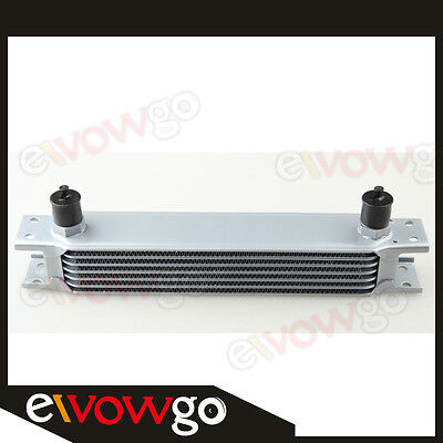 Universal 7 Row AN10 Engine Transmission Oil Cooler FOR Celica MR2 RSX SUPRA CB7