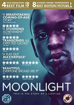 Moonlight [DVD] [2017] - DVD  0HVG The Cheap Fast Free Post