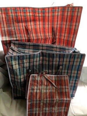 Reusable Storage Bags Laundry Shopping Bags: Small Medium and Large