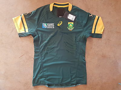 Springbok Rugby Player issue Rugby world Cup Jersey 2015