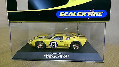 SCALEXTRIC C2549/1 Ford GT40 Mk.II NSCC 2003 Special Weekend Limited Edition