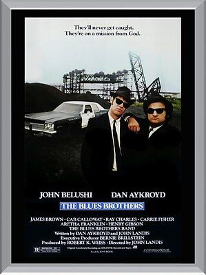 The Blues Brothers A1 To A4 Size Poster Prints