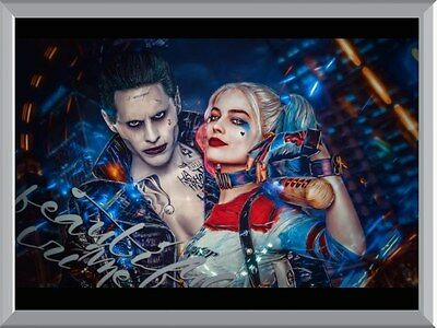 Harley Quinn And The Joker A1 To A4 Size Poster Prints