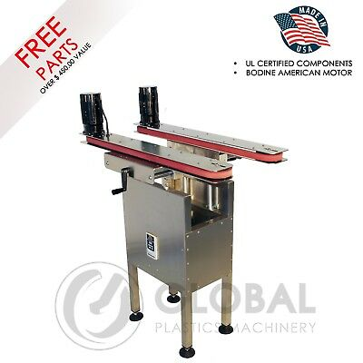 Hugger Belt Side Grip Bottomless Transfer Conveyor Belt  for Bottom Coding