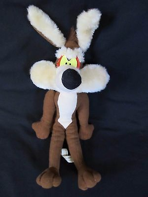 "Vintage 1995 Ace Novelty Looney Tunes 12"" Wile E Coyote Plush Dool"