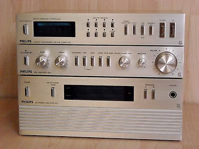 Philips 22AH09 Series * High End Audio Set * 109 Tuner - 209 PreAmp - 309 Amp