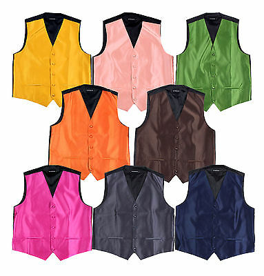 Cheap Solid Vest $7 Charcoal,Brown,Navy,Gold,Green,Peach,Fuschia,Orange