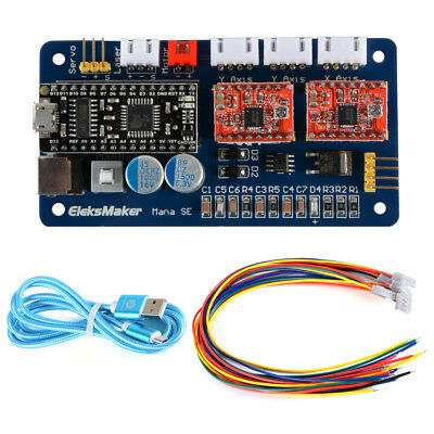 2-Axis Stepper Motor Driver Board Laser Controller for CNC Laser Engraver TE693