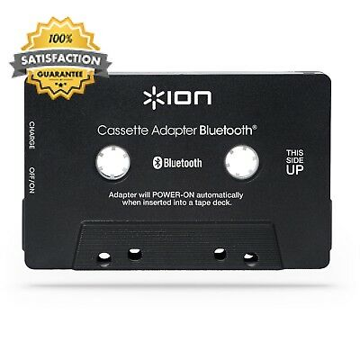 ION Audio Bluetooth Cassette Adapter Streaming for Players and Built-In...