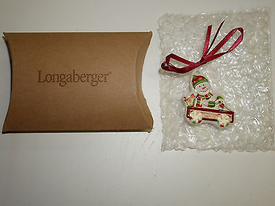 Longaberger 2004 Merry Christmas Tie-ON  NEW in Box  Made in the USA