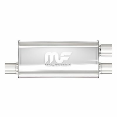 """18/"""" Body 24/"""" Length Magnaflow 12249 5/""""x8/"""" Oval Muffler Center 3/"""" In//Out"""