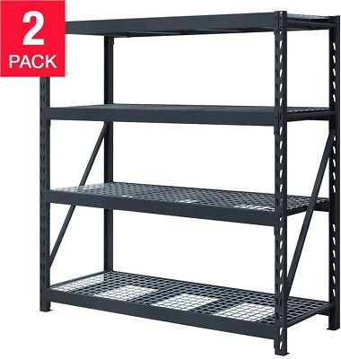 Whalen Industrial Rack 77?W x 24?D x 72?H 2-pack Fast Service! Free