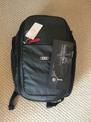 $160 Audi Collection Booq Taipan Shock Backpack Black NWT