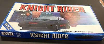 Knight Rider Board Game 1980's Vintage action KITT and the Hoff superb condition
