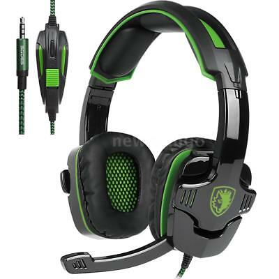 SADES SA-930 Stereo Music Gaming Headset Noise Cancellation MIC for PS4 Xbox One