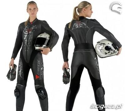 Dainese Ladie Motorbike Leathers Suit Motorcycle Racing Custom Made Any Size NEW