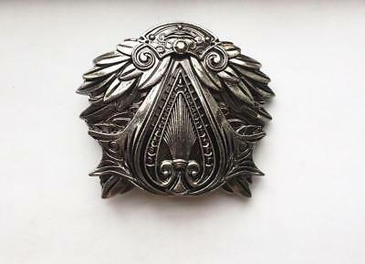Mans NEW ASSASSIN'S CREED THE EZIO BELT BUCKLE FULL METAL GAMING BUCKLE