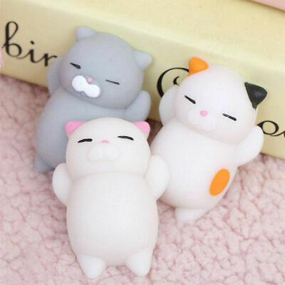 Squishy animale Kawaii Morbido Cellulare Cinghie Pane Portachiavi GATTO toy